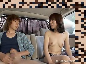 japanese mature handjob
